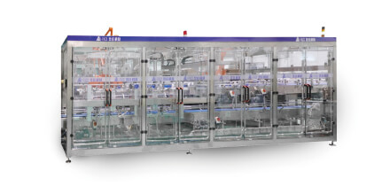 Automatic case packaging machine